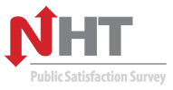 NHT Public Satisfaction Survey Logo